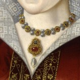Katherine Parr portrait detail