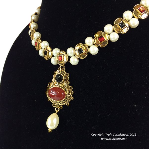 Katherine Parr replica necklace